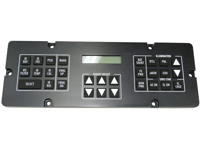 ICPs, FCUs, MFDs, KEYPADS and BEZELS